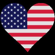 Heart USA (3c)