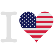 I Love USA Original (3c)