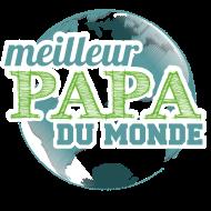 T-Shirt meilleur papa du monde<br />imprimer sur un tee shirt