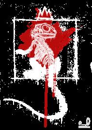 T-Shirt anatomy of the lizard<br />imprimer sur un tee shirt