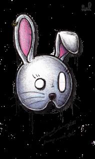 T-Shirt bunny mask<br />imprimer sur un tee shirt