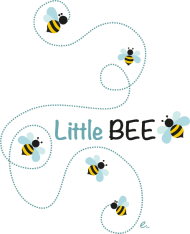 T-Shirt Little BEE<br />imprimer sur un tee shirt