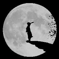T-Shirt bunny lapin lune fullmoon loup-garou <br />imprimer sur un tee shirt