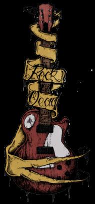 T-Shirt Rock is dead (color)<br />imprimer sur un tee shirt