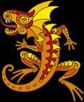 Motif Dragon