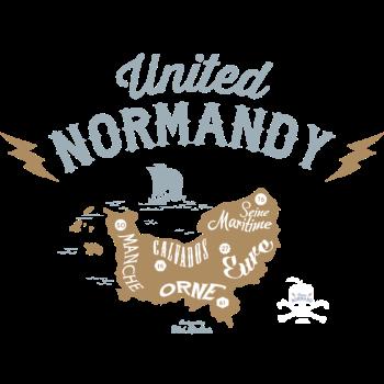 T-Shirt normandie reunie<br />imprimer sur un tee shirt