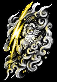 T-Shirt Zeus<br />imprimer sur un tee shirt