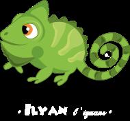 T-Shirt Ilyan l'iguane<br />imprimer sur un tee shirt