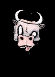 T-Shirt Cow (K-nimals)<br />imprimer sur un tee shirt