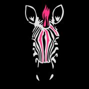 Zebra Punk with an earring