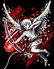 T-Shirt Cupid<br />imprimer sur un tee shirt