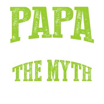 T-Shirt Papa The Man The Myth<br />imprimer sur un tee shirt