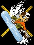 Motif Snowboardeur