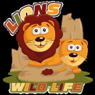 T-Shirt lions mignons<br />imprimer sur un tee shirt