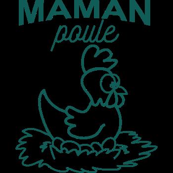 T-Shirt maman poule dessin<br />imprimer sur un tee shirt