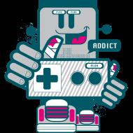 T-Shirt Geek Neard Addict<br />imprimer sur un tee shirt