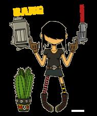 T-Shirt Le cactus<br />imprimer sur un tee shirt
