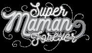 T-Shirt super maman forever gris<br />imprimer sur un tee shirt