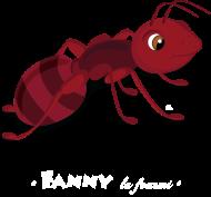 T-Shirt Fanny la fourmi<br />imprimer sur un tee shirt