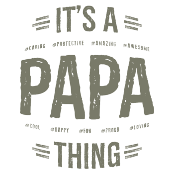 T-Shirt Gift for Papa<br />imprimer sur un tee shirt