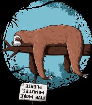 T-Shirt Sloth<br />imprimer sur un tee shirt