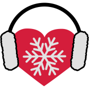 I love Winter | Herz | Heart | Schnee | Frost