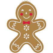 yummy funny gingerbread man