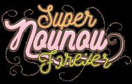 T-Shirt Super nounou forever<br />imprimer sur un tee shirt