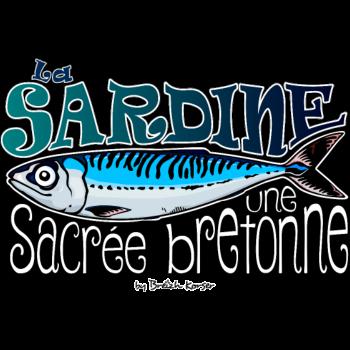 T-Shirt sardine bretonne<br />imprimer sur un tee shirt