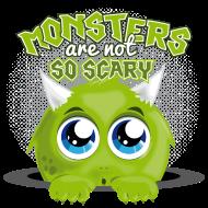 T-Shirt petit monstre peureux<br />imprimer sur un tee shirt