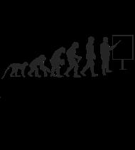 T-Shirt Professeur  evolution<br />imprimer sur un tee shirt