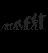T-Shirt travail Evolution<br />imprimer sur un tee shirt