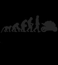 T-Shirt Evolution motorcycle<br />imprimer sur un tee shirt