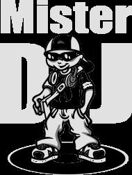 T-Shirt Mister DJ<br />imprimer sur un tee shirt