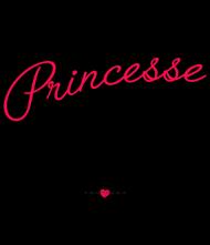 T-Shirt Princesse et connasse coeur<br />imprimer sur un tee shirt