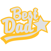 BEST DAD STAR