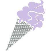 Ice cream and ice cream cone
