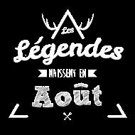 T-Shirt Legende aout<br />imprimer sur un tee shirt