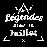 T-Shirt Legende juillet<br />imprimer sur un tee shirt
