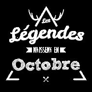 T-Shirt Legende octobre<br />imprimer sur un tee shirt