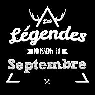 T-Shirt Legende septembre<br />imprimer sur un tee shirt