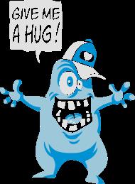 T-Shirt Give Me a Free Hug<br />imprimer sur un tee shirt