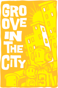 T-Shirt Groove In The City<br />imprimer sur un tee shirt