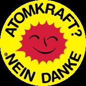Atomkraft? Nein Danke! Logo lachende Sonne