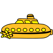 Small yellow submarine