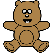 Teddy Bear Kawaii mignon