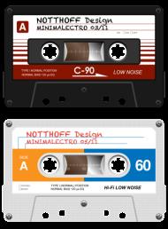 T-Shirt Tapes Minimalectro<br />imprimer sur un tee shirt