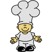 Sweet little cook