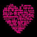 Motif Je t'aime