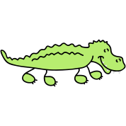 Cute Crocodile
